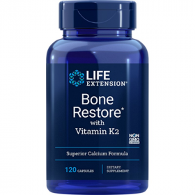 Bone Restore with Vitamin K2 - 120 Cápsulas