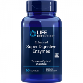 Enhanced Super Digestive Enzymes - 60 Vegetarian Capsules