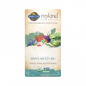 mykind Organics Men's 40+ Multi Tablets - 60 Comprimidos