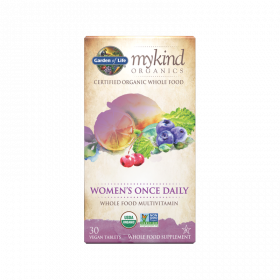 mykind Organics Women's Once Daily Tablets - 30 Comprimidos