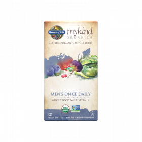 mykind Organics Mens Once Daily Tablets - 30 Comprimidos