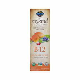 mykind Organics B-12 Organic Spray Raspberry 58ml Líquido