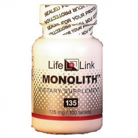 Monolith - Lithium Orotate - 135mg - 100 Tablets