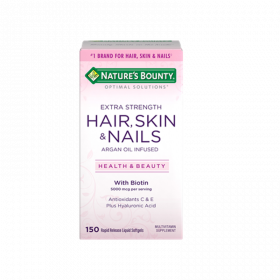 Hair Skin & Nails Extra Strength 5000mcg - 150 Rapid Release Softgels