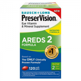 Preservision Areds Vitamin & Mineral - 120 Tablets